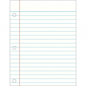 Write-on/Wipe-off Notebook Paper Chart