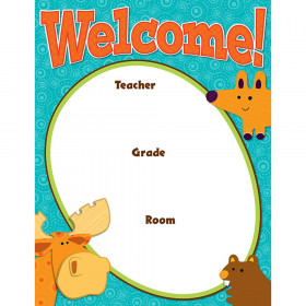 Moose & Friends Welcome Chart