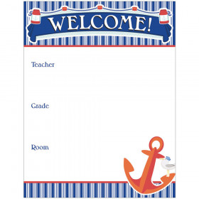 S.S. Discover Welcome Chart