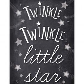 Stars Twinkle Twinkle Chart School Girl Style