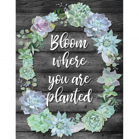 Bloom Where You Are Planted Chart Simply Stylish