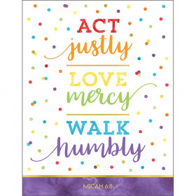 Act Justly Love Mercy Walk Humbly Chart