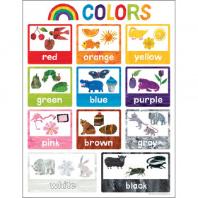 World of Eric Carle Colors Chart
