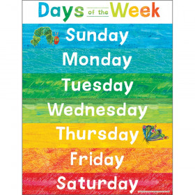 World of Eric Carle Days of the Week Chart