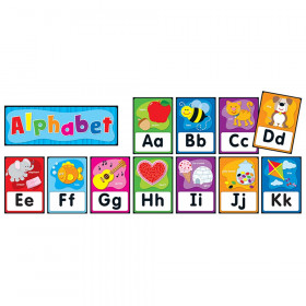 Alphabet Quick Stick Bulletin Board Set, 27 Pieces