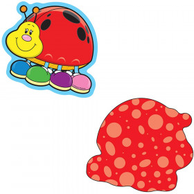 Mini Cutouts Single Ladybugs