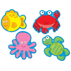 Sea Life Cut-Outs, Pack of 36