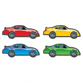 Race Cars Cut-Outs, Pack of 48