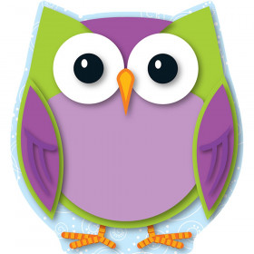Colorful Owl Mini Cut-Outs, Pack of 36