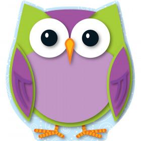 Colorful Owl Mini Cut-Outs