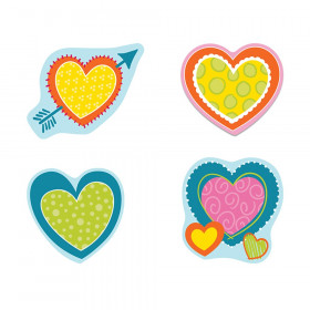 Hearts Cut-Outs, Pack of 36