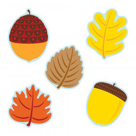 Leaves & Acorns Cut-Outs, Pack of 36