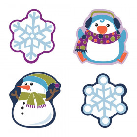 Winter Mix Cut-Outs, Pack of 36