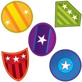 Super Power Shields Mini Cut-Outs