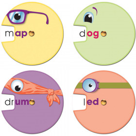 Word Wheels: Word Families Curriculum Cut-Outs