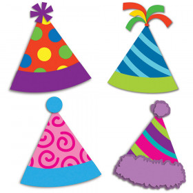 Party Hats Mini Cut-Outs