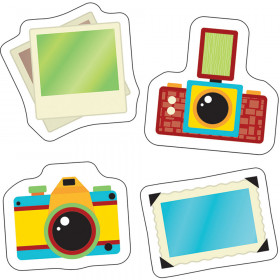 Hipster Cameras and Photos Mini Cut-Outs