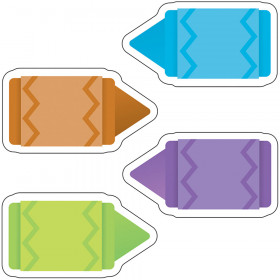 Colorful Cutouts Mini Chunky Crayon Assorted Designs