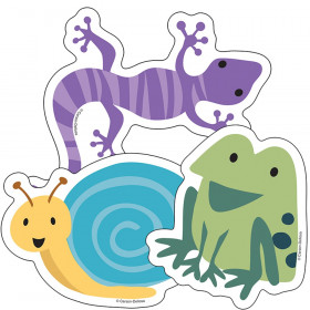 Nature Explorers Frogs, Lizards & Snails Cut-Outs