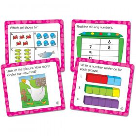 Math Challenge Curriculum Cut-Outs, Grade K