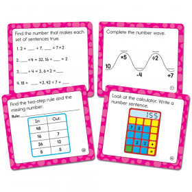 Math Challenge Curriculum Cut-Outs, Grade 3