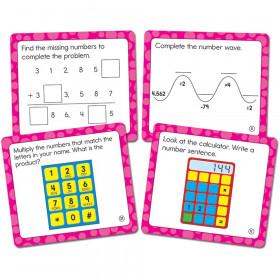 Math Challenge Curriculum Cut-Outs, Grade 4