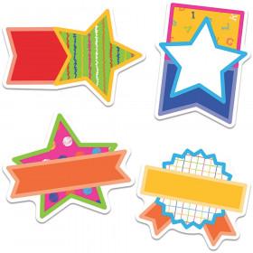 School Tools Super Stars Cut-Outs