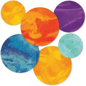 Galaxy Planets Cut-Outs