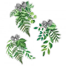 Simply Boho Greenery Cut-Outs, Pack of 12