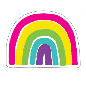 Kind Vibes Rainbow Cut-Outs, Pack of 36