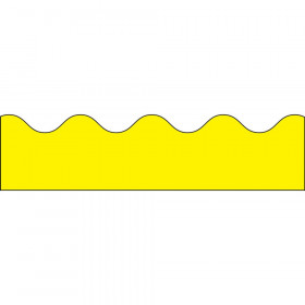 Yellow Scalloped Border, 39'