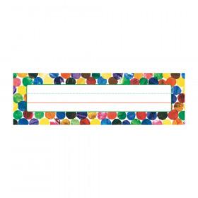 Eric Carle Dots Desk Nameplates