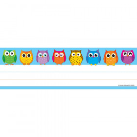 Colorful Owls Nameplates
