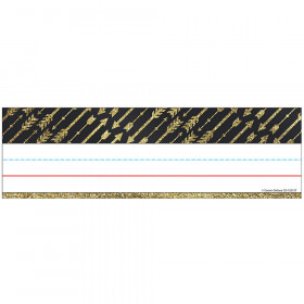 Gold Glitter Arrows Nameplates Sparkle And Shine