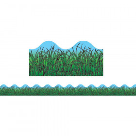 Grass Scalloped Borders