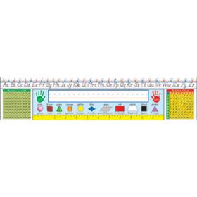 Modern Manuscript: Grades 13 Desk Reference Nameplates