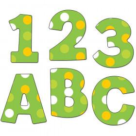 Lemon Lime EZ Letters