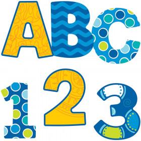 Bubbly Blues EZ Letters