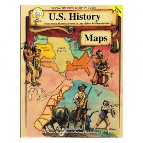 U.S. History Maps Resource Book, Grade 5-8, Paperback