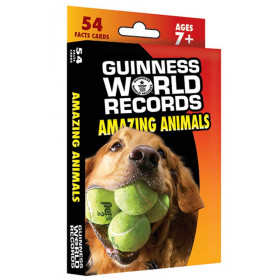 Guinness World Records Amazing Animals Fact Cards