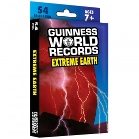 Guinness World Records Extreme Earth Fact Cards