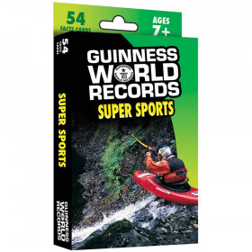 Guinness World Records Super Sports Fact Cards