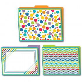 Color Me Bright File Folders