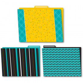 Black, White & Bold File Folders