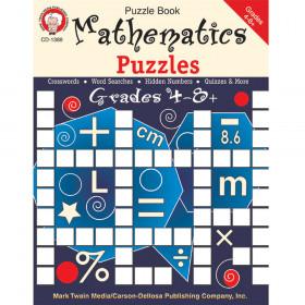 Mathematics Puzzles, Grades 4 - 12
