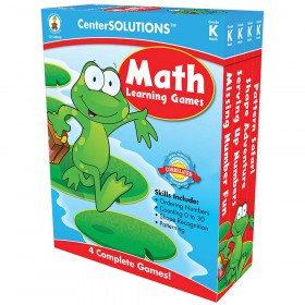 Math Learning Games, Grade K