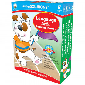 Language Arts Learning Games, Grade K