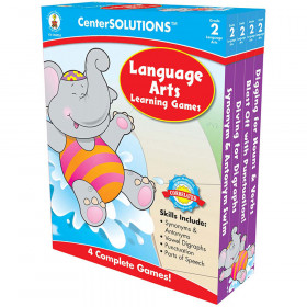 Language Arts Learning Games, Grade 2
