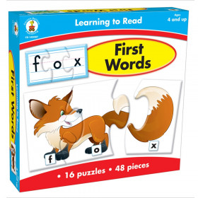 First Words Puzzle Game