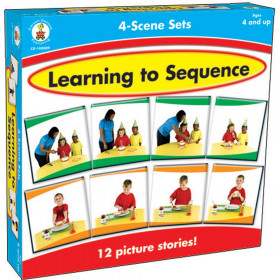 Learning to Sequence Game, 4-Scene Sets